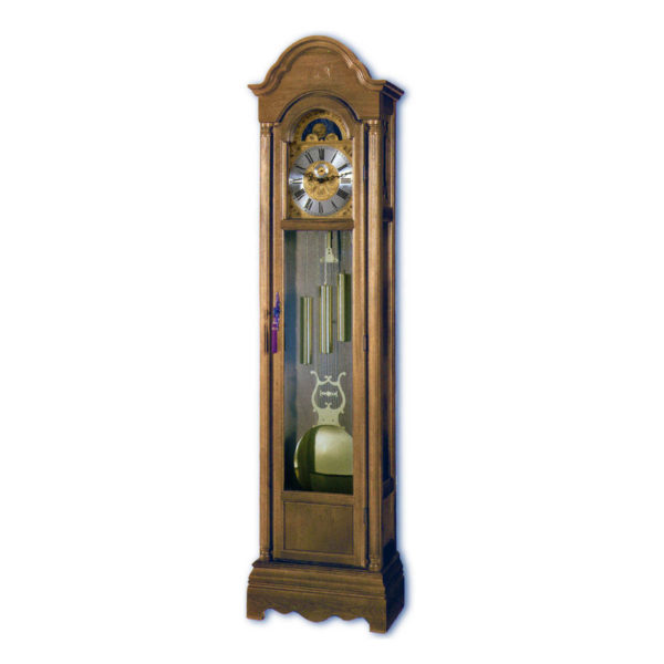 CAVENDISH-Walnut Grandfather Floor Clock