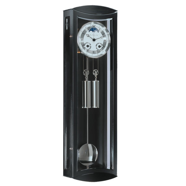 Hermle MORNINGTON-70650-740058- Black Regulator Wall Clock