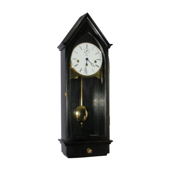 MURKIRK-EBONY Regulator Wall Clock