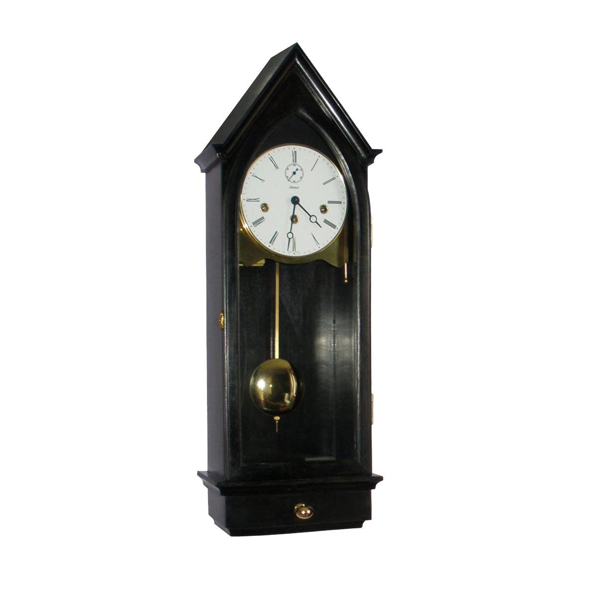 MURKIRK-EBONY Regulator Wall Clock