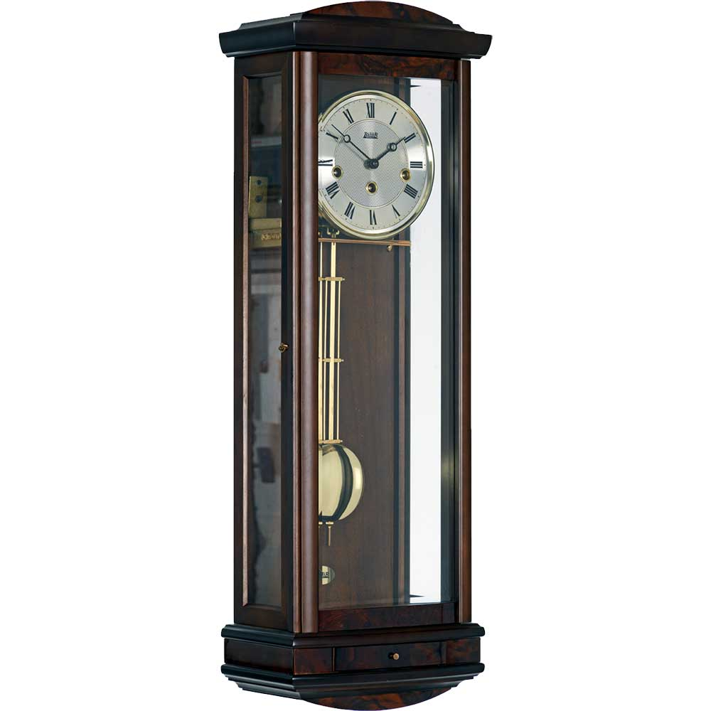 abbeydale-walnut-mechanical-wall-clock
