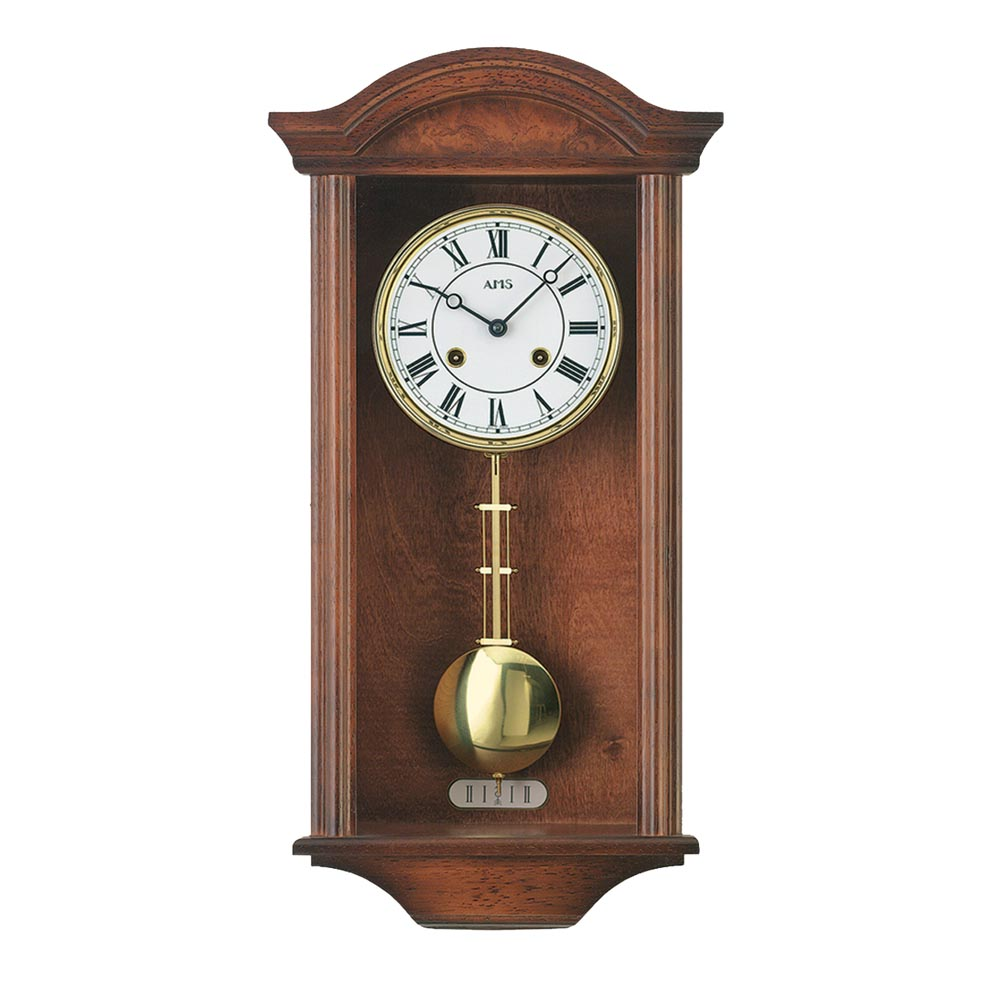 AMS 614-1 Regulator Wall Clock