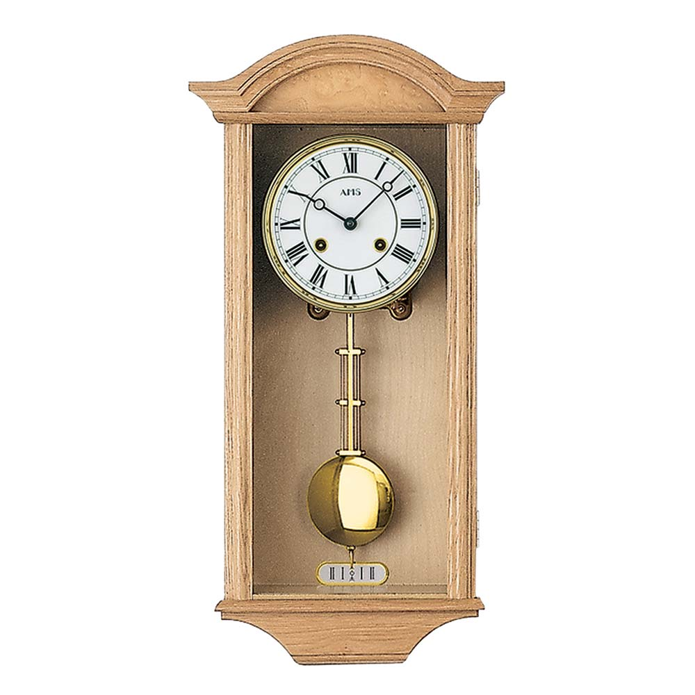 AMS 614-5 Regulator Wall Clock