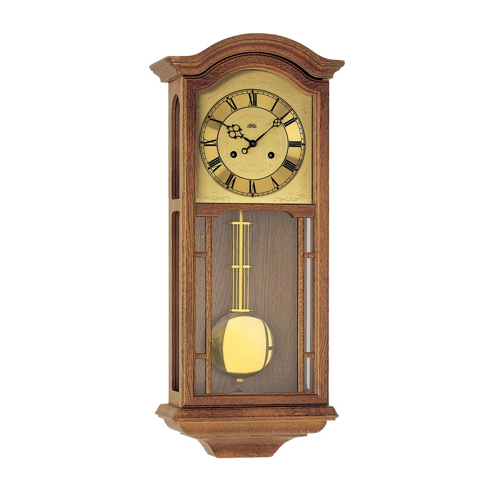 AMS 650-4 Regulator Wall Clock