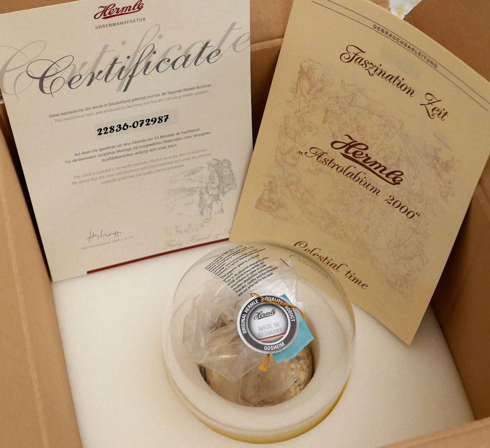 Arstalobium Certificate