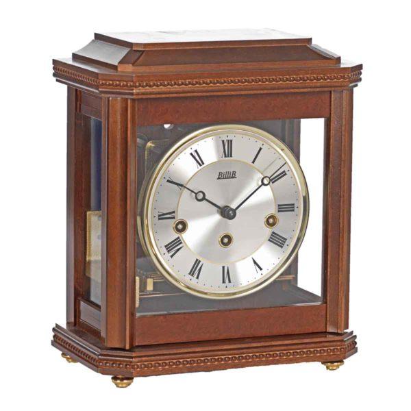 BIRCHGROVE Walnut Finish. Mantel Table Clock