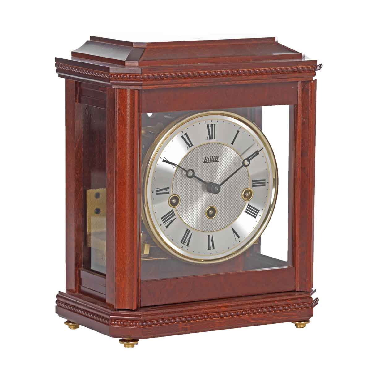 BIRCHGROVEMahogany Finish. Mantel Table Clock