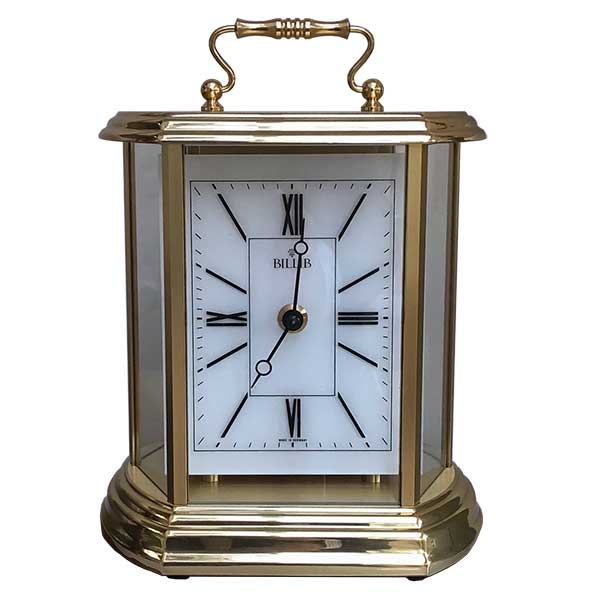 clair carriage mantel clock