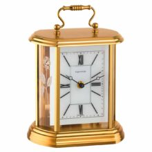 MAPPLETON 23008-000130 Carriage Table Clock