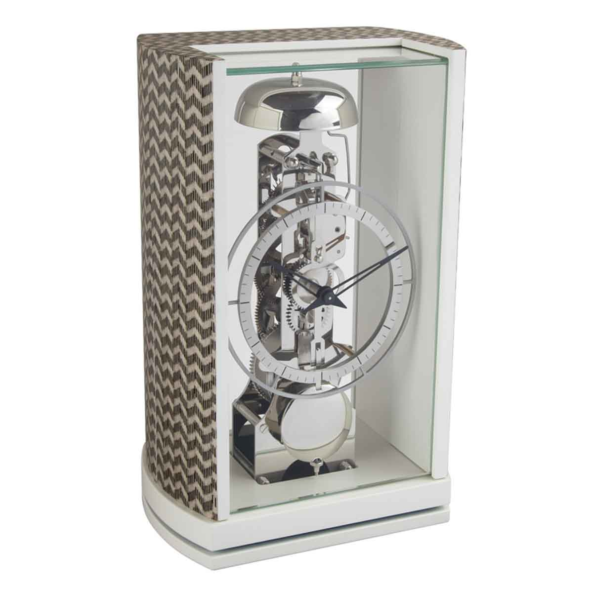 Hermle MARCH 23050-R10791 Silver-black Table Clock