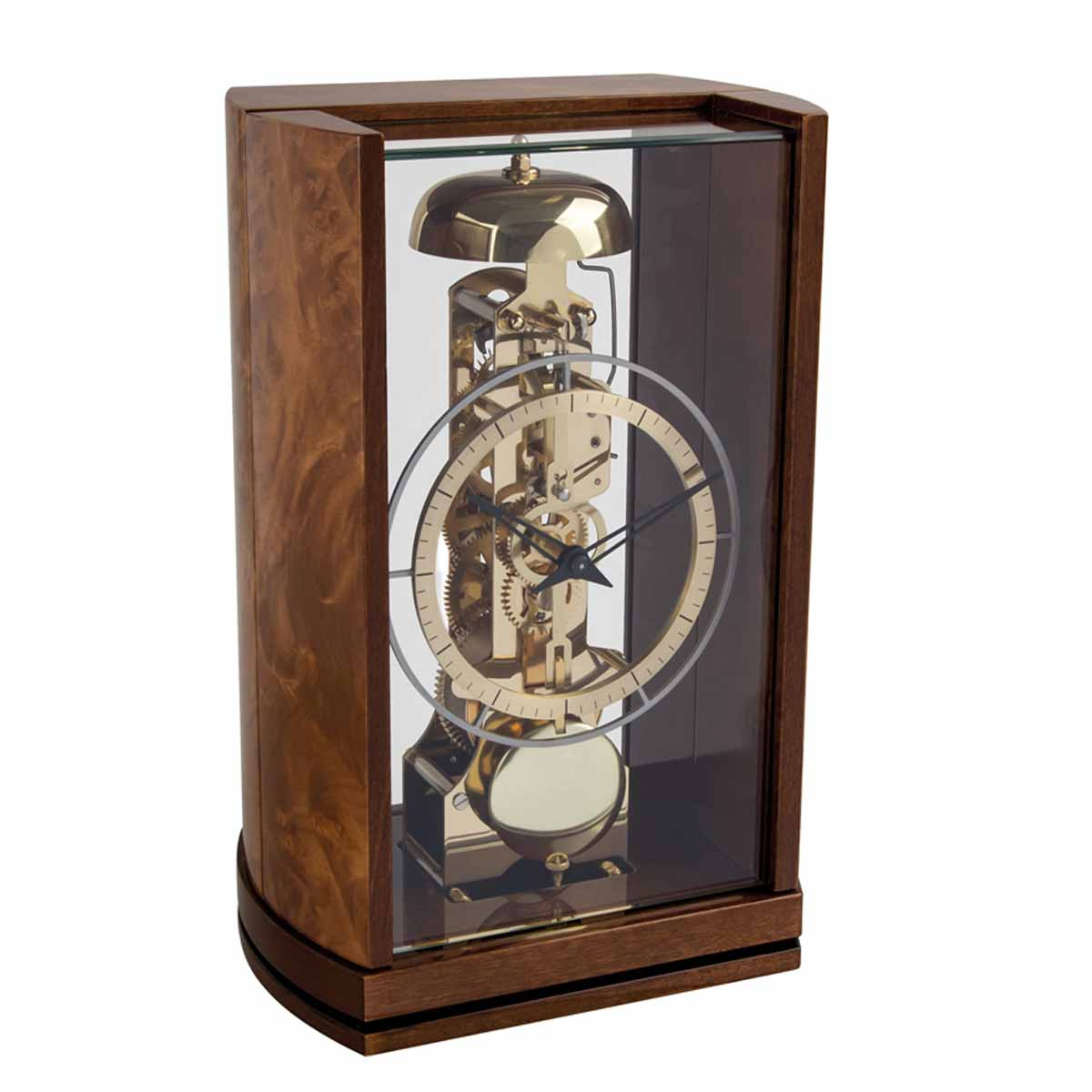 MITCHAM 23050-R30791 Walnut Table Clock