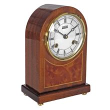 ROSEWOOD Mantel Table Clock