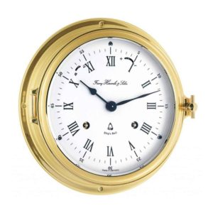 SALCOME 35065-000132 Ships Bell Wall Clock