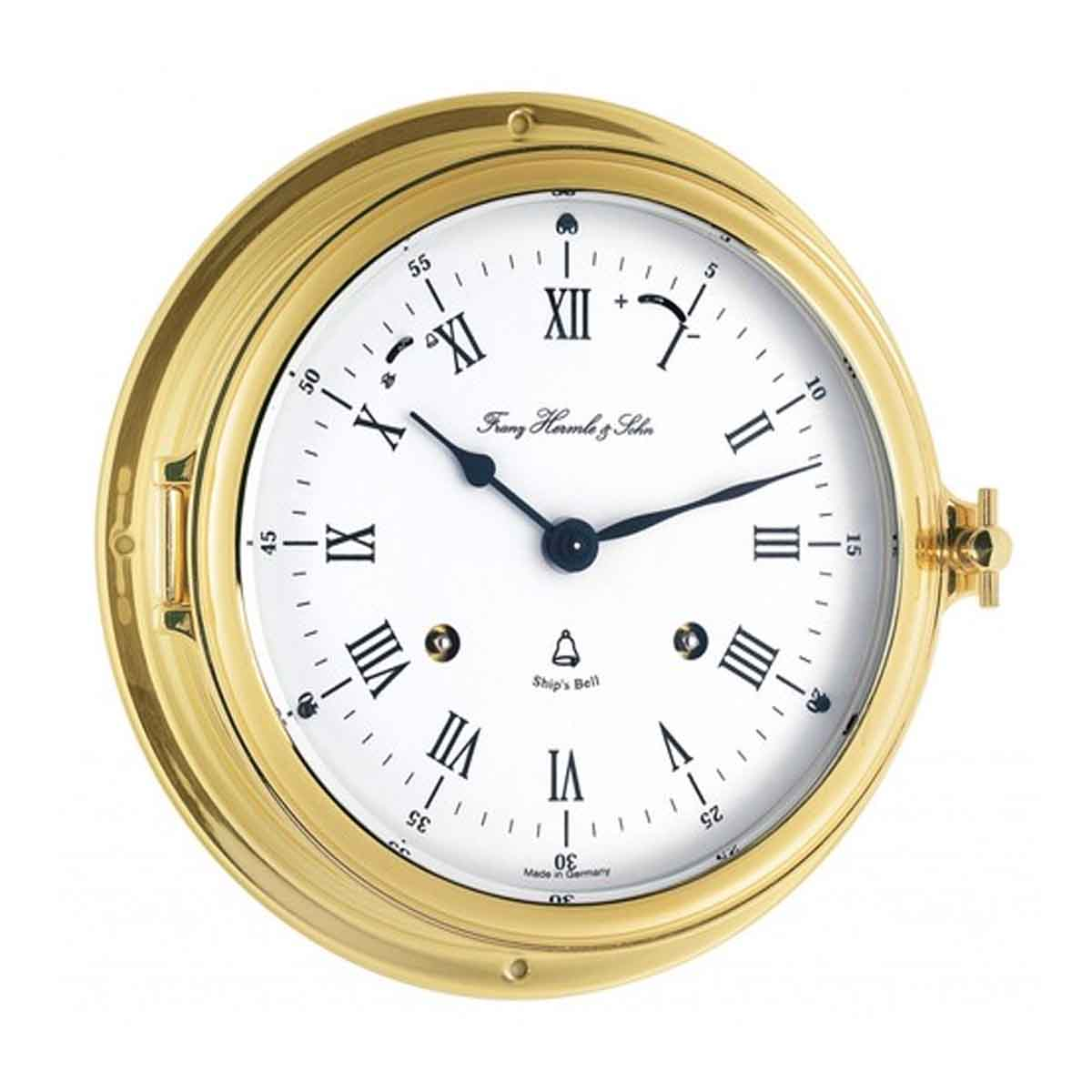 Hermle Salcome 35065 000132 Ships Bell Wall Clock