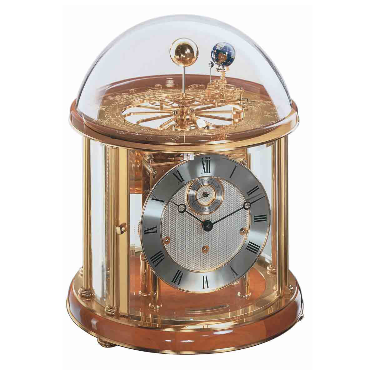 TELLURIUM I 22805-160352-Cherry Astrolubium Table Clock