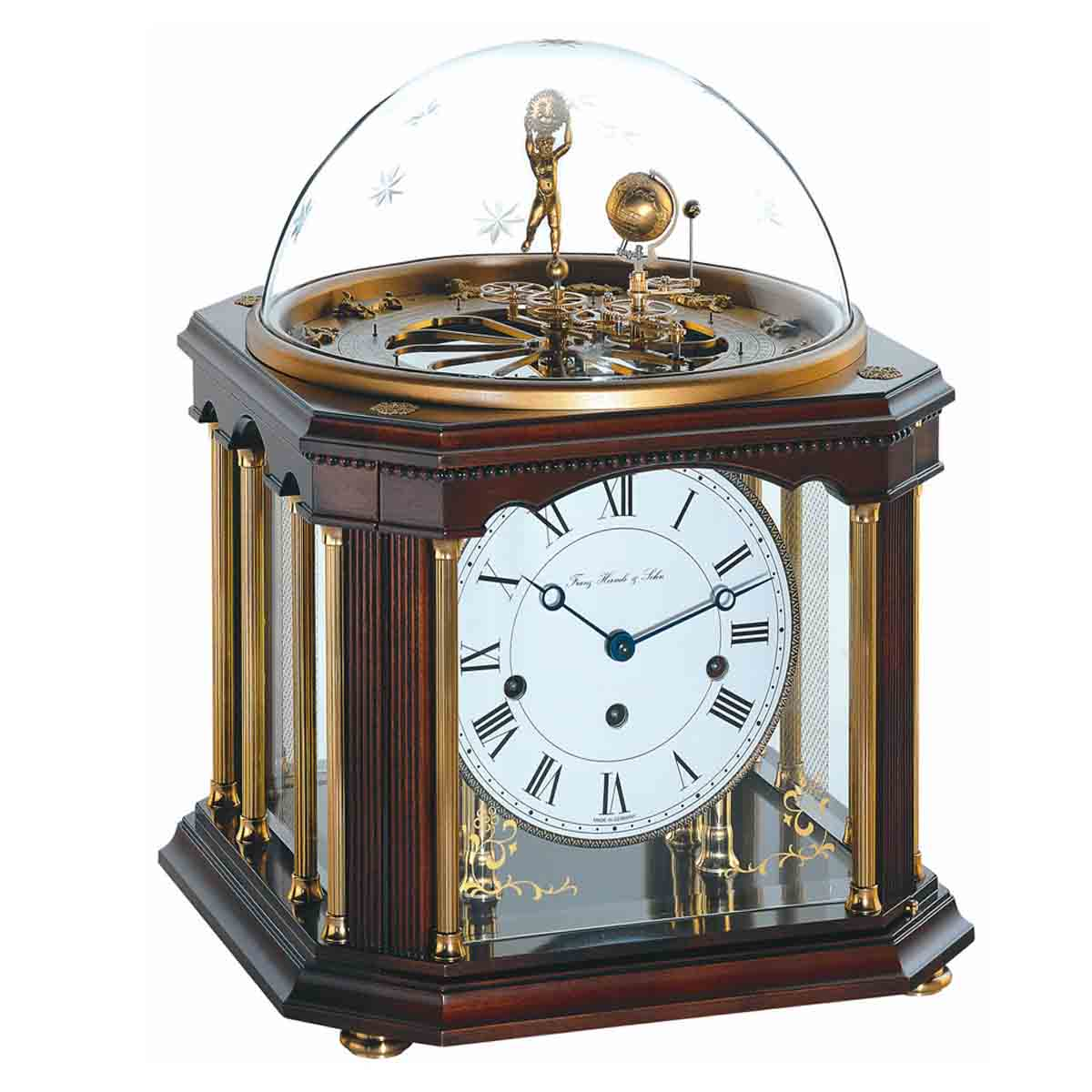 TELURIUM III 22948-Q10352 Astrolubium Table Clock