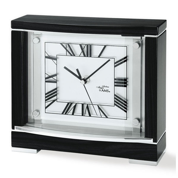 AMS5111 Black Mantel table Clock