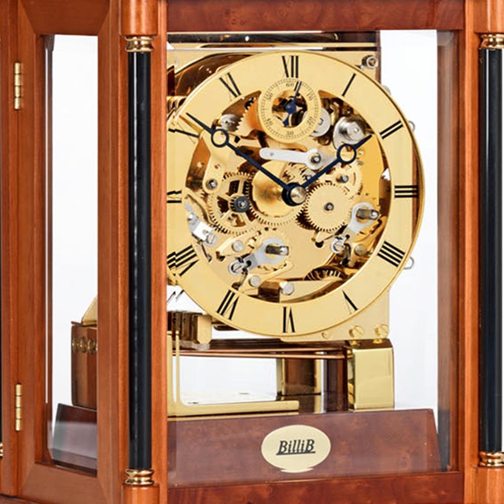 bradley-triple-chime-mechanical-mantel-clock-yew-dial
