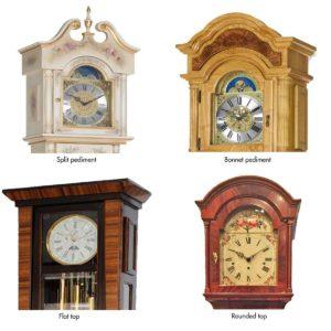 logn case clocks crowns