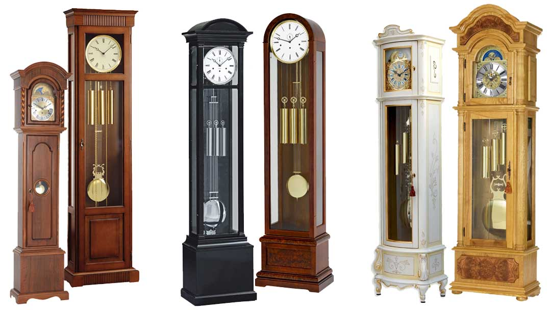 Long Case Grandfather Floor Clock