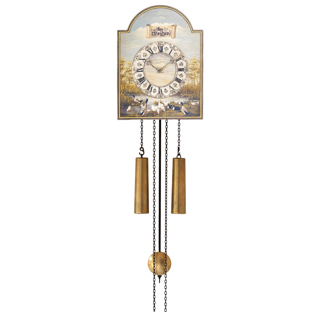 WU78 Traditional Wall Clock