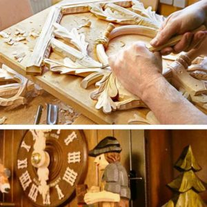 Carving Cuckoo Clock
