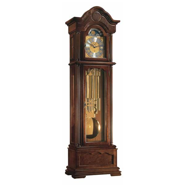 Hermle Grandfather Floor Clock - Temple-W 01093-031173