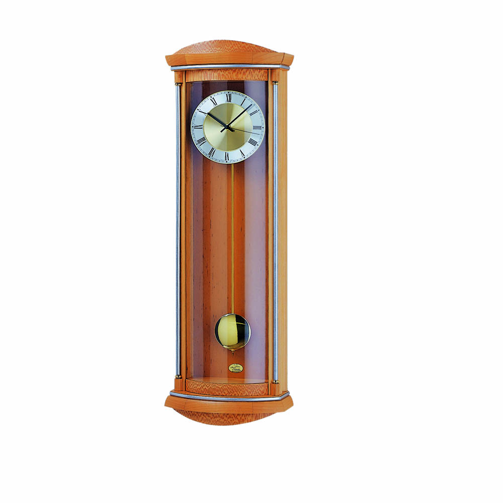 AMS 5080-16 Quartz Pendulum Wall Clock