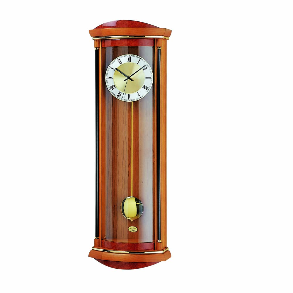 AMS 5080-9 Quartz Pendulum Wall Clock
