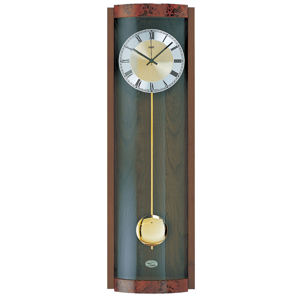 AMS 5087-1 Quartz Pendulum Wall Clock