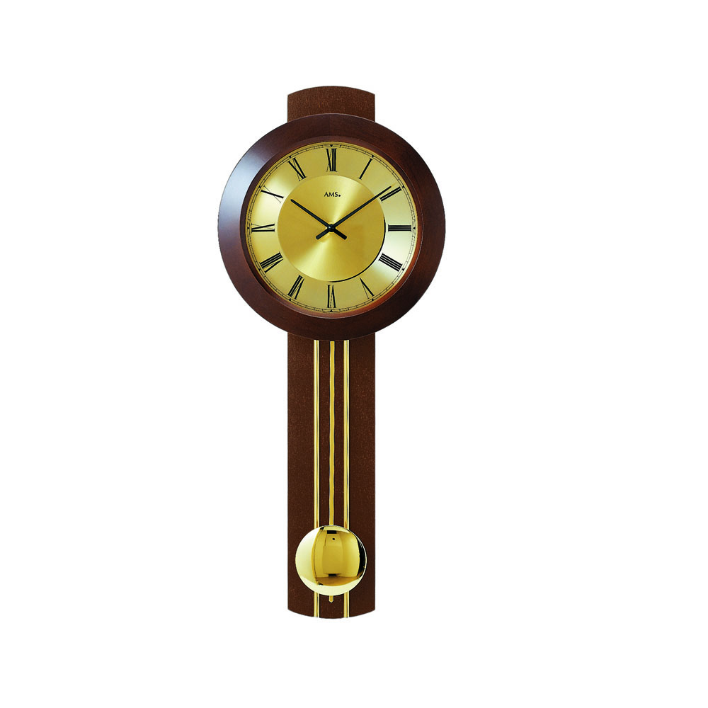 AMS 5132-1 Radio Controlled Pendulum Wall Clock