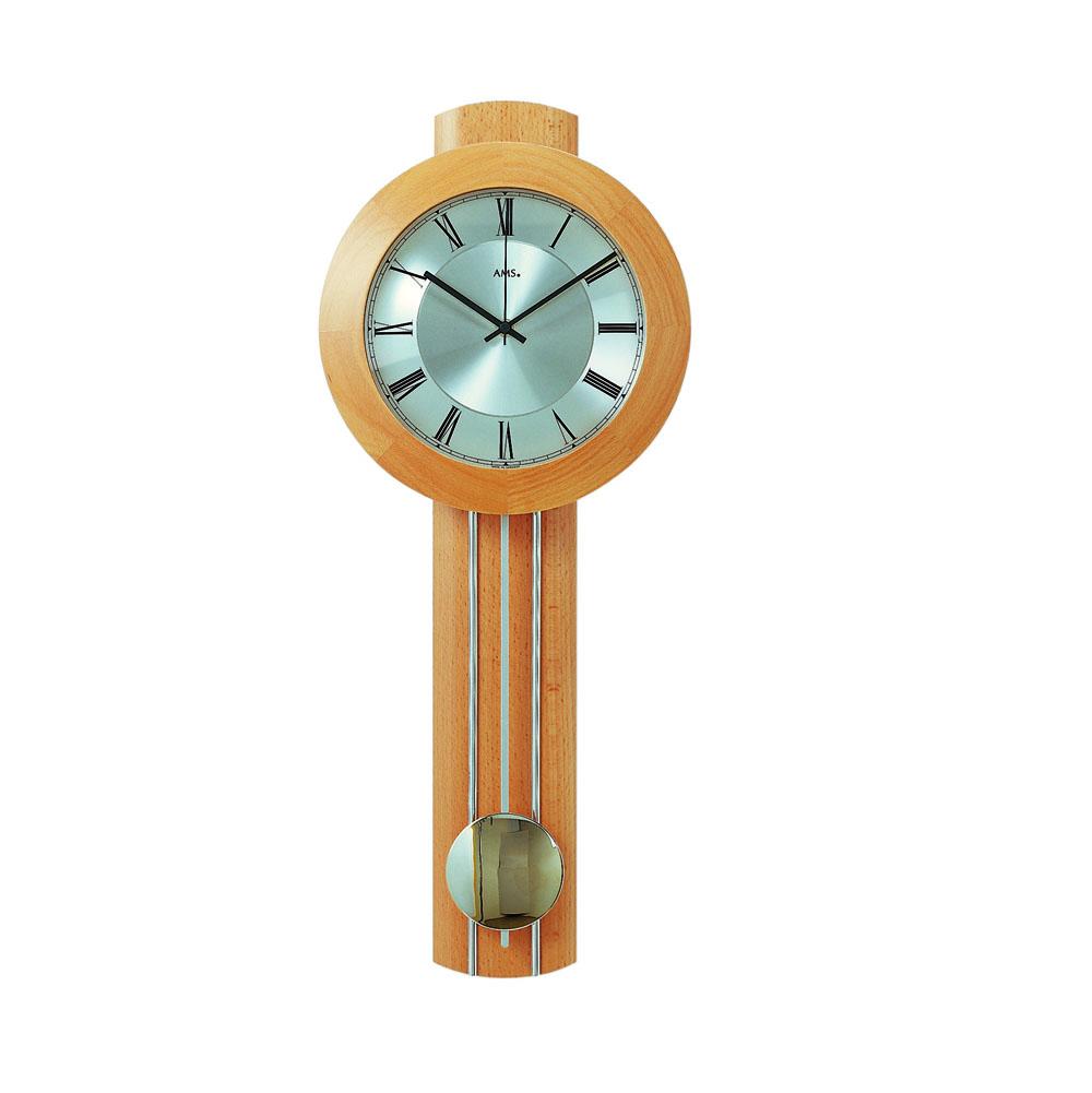 AMS 5132-18 Radio Controlled Pendulum Wall Clock