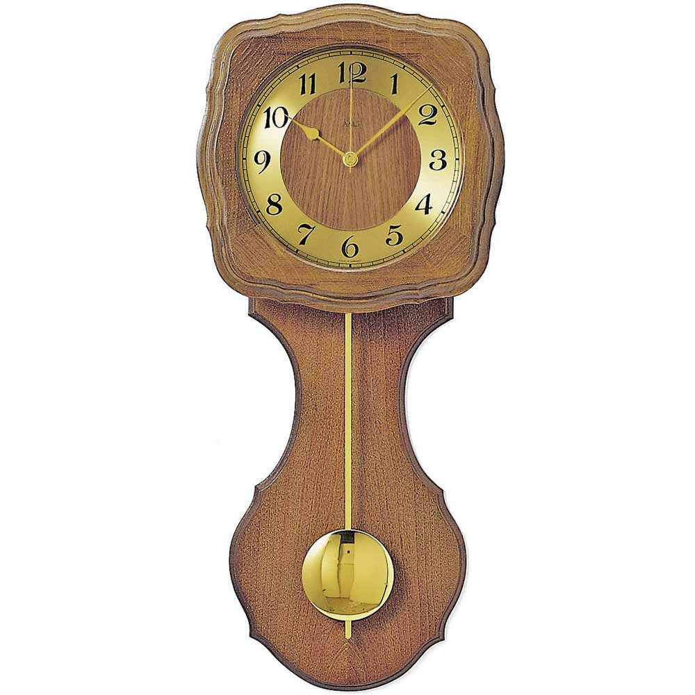 AMS 5162-4 Quartz Pendulum Wall Clock