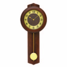 AMS 5165-1 Radio Controlled Pendulum Wall Clock