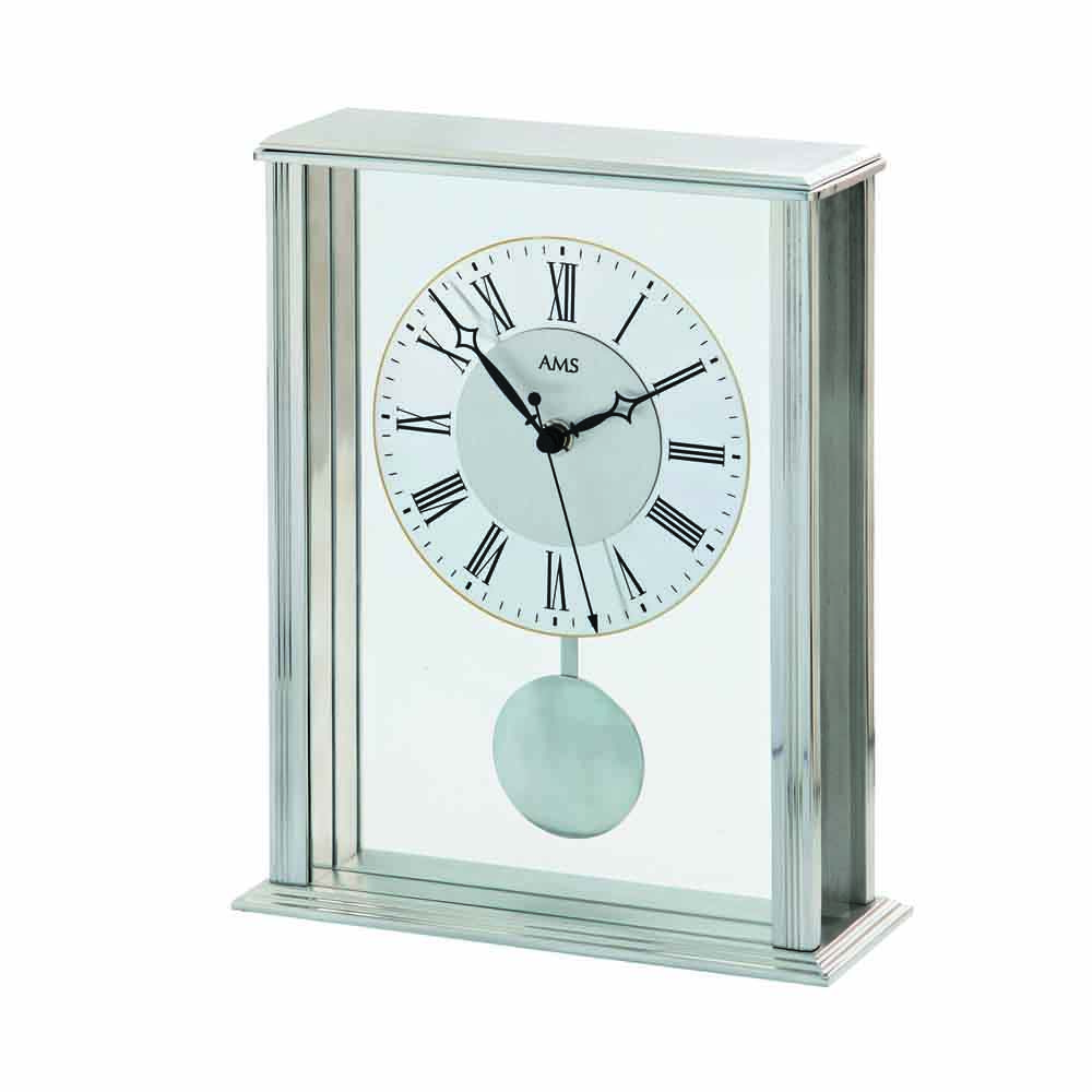 AMS 5190 Radio Controlled Pendulum Table Clock
