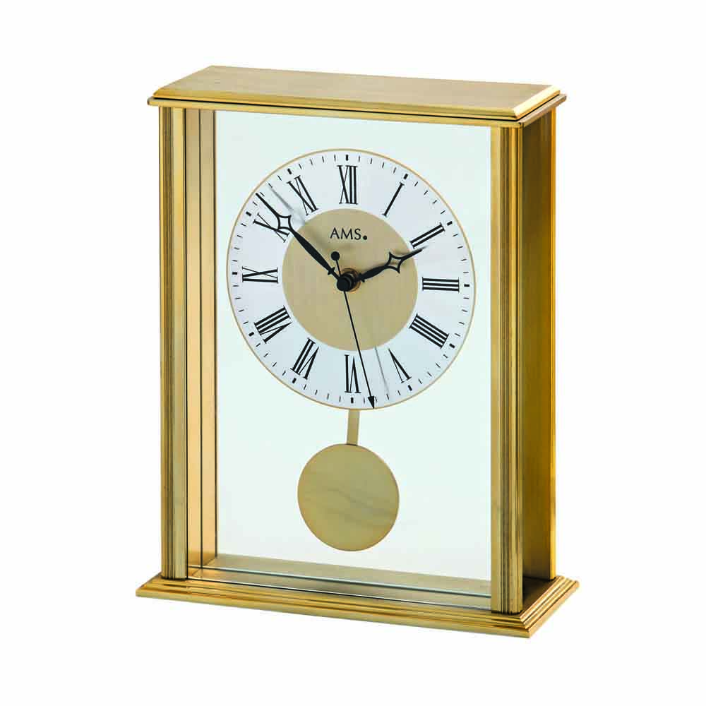 AMS 5191 Radio Controlled Pendulum Table Clock
