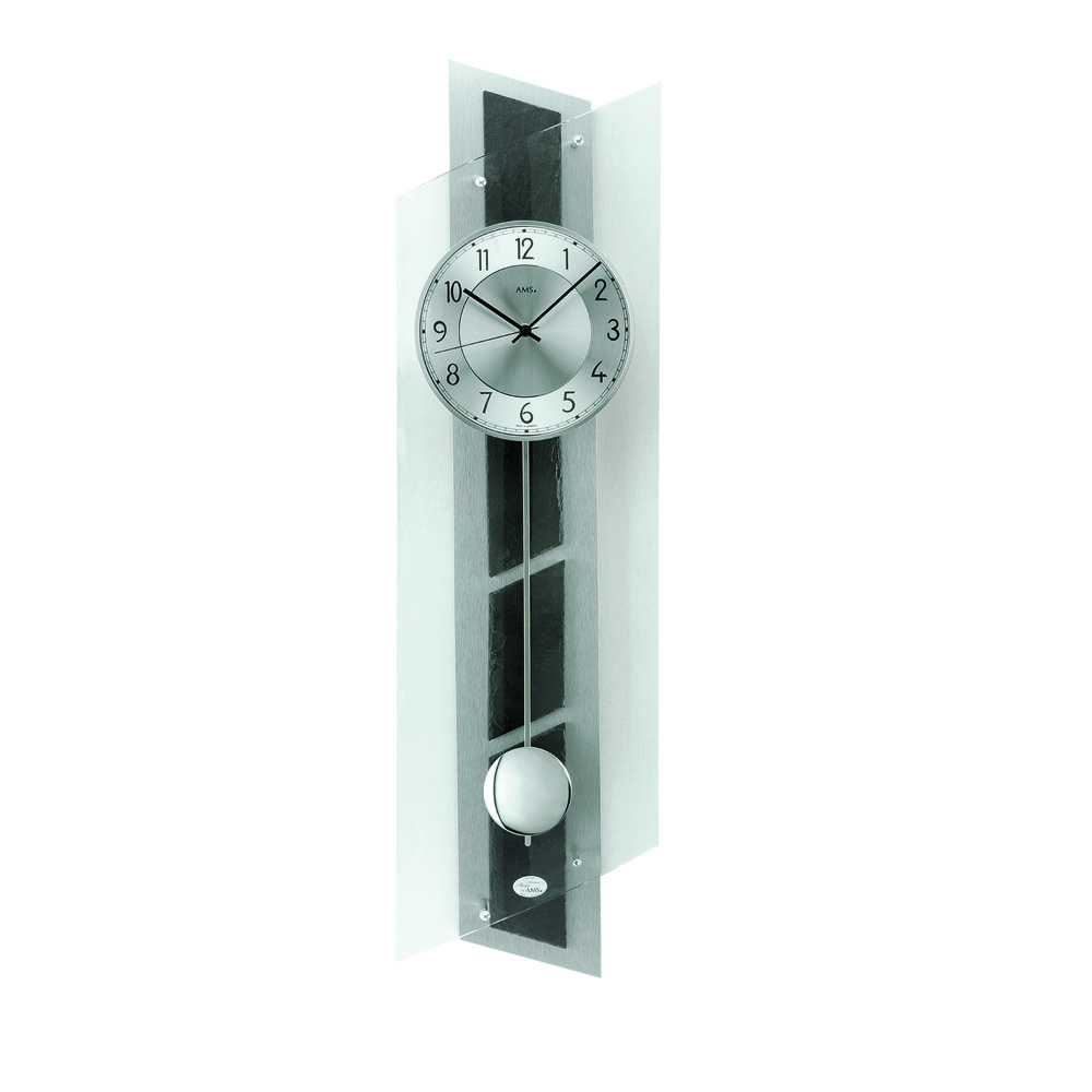 AMS 5217 Radio Controlled Pendulum Wall Clock