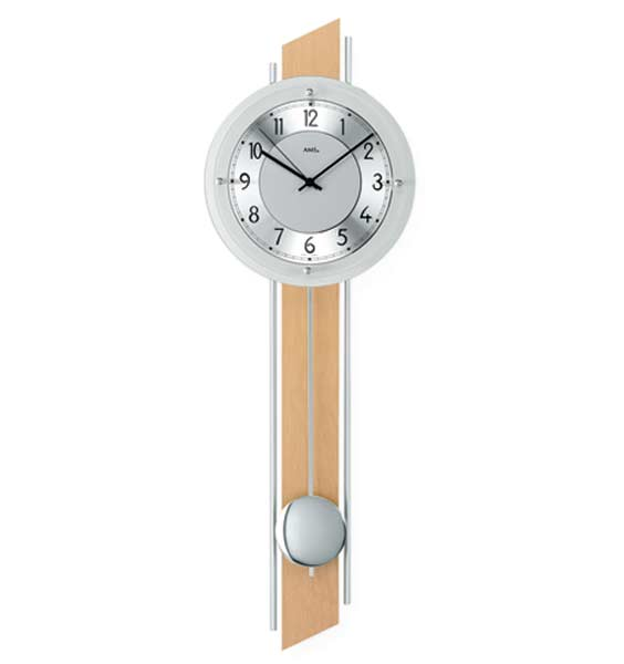 AMS 5234 Radio Controlled Pendulum Wall Clock