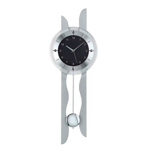 AMS 5243 Radio Controlled Pendulum Wall Clock