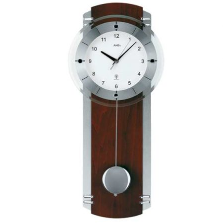 AMS 5245-1 Radio Controlled Pendulum Wall Clock