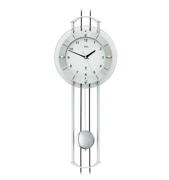 AMS 5248 Radio Controlled Pendulum Wall Clock