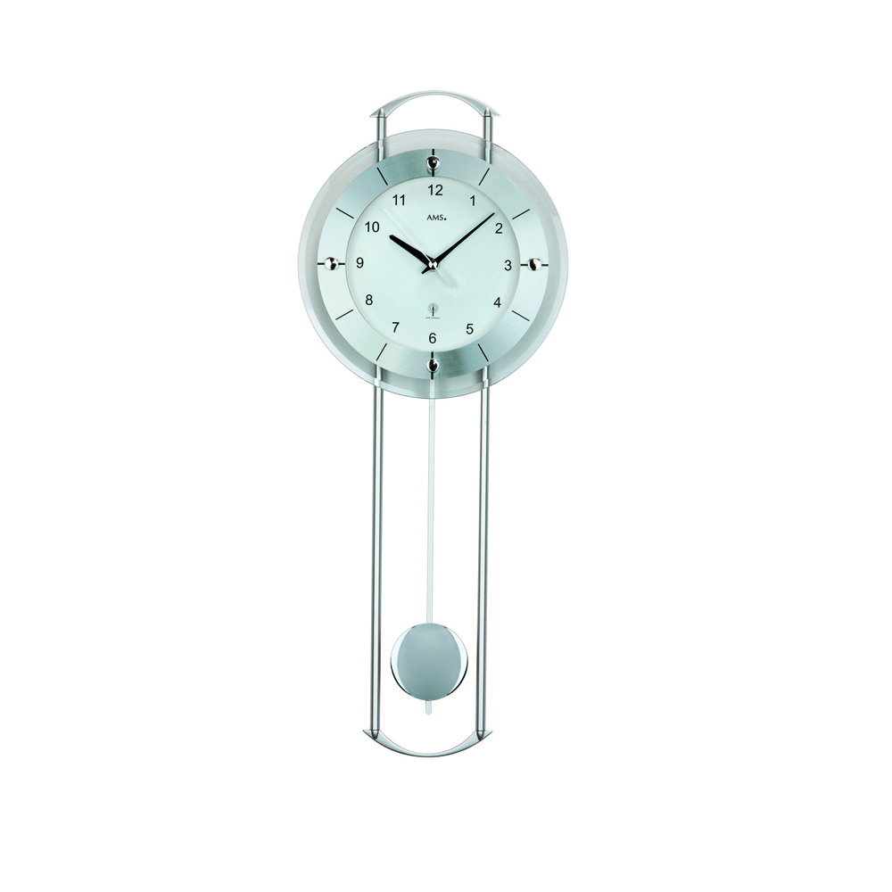 AMS 5254 Radio Controlled Pendulum Wall Clock
