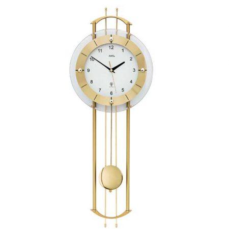 AMS 5257 Radio Controlled Pendulum Wall Clock