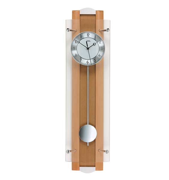 AMS 5259-18 Radio Controlled Pendulum Wall Clock
