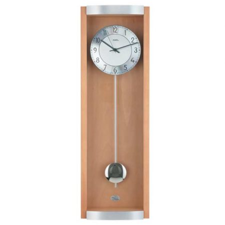 AMS 5285-18 Radio Controlled Pendulum Wall Clock