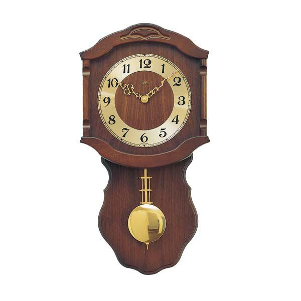 AMS 964-1 Quartz Pendulum Wall Clock