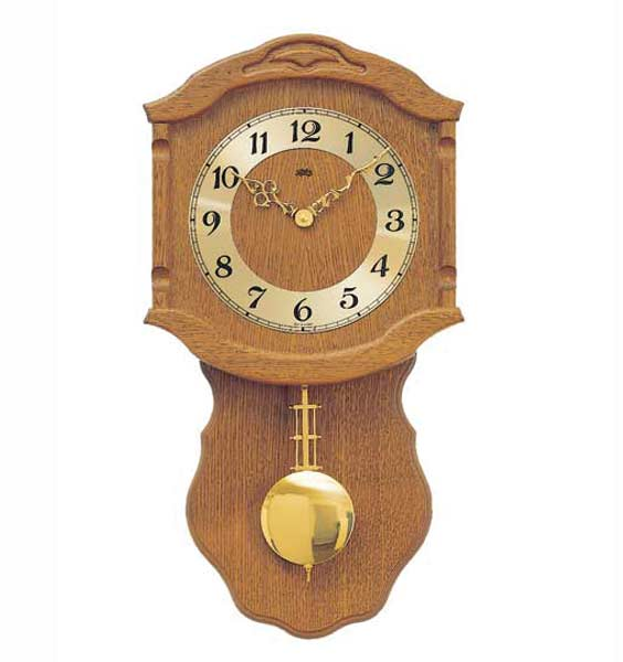 AMS 964-4 Quartz Pendulum Wall Clock