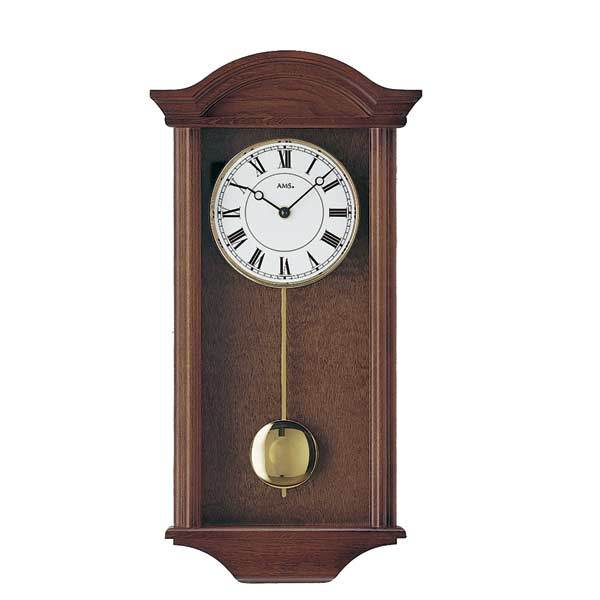 AMS 990-1 Quartz Pendulum Wall Clock