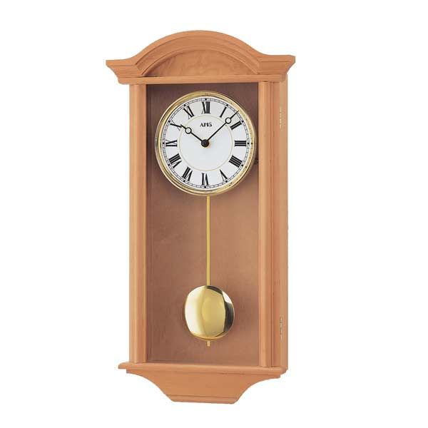 AMS 990-16 Quartz Pendulum Wall Clock