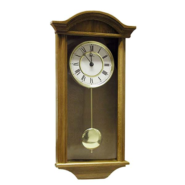 AMS 990-4 Quartz Pendulum Wall Clock